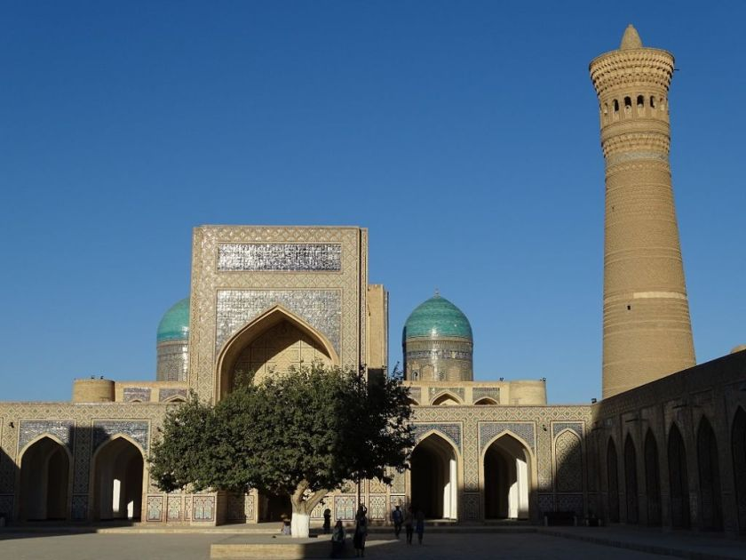 Khalon Minarett in Buchara, Usbekistan