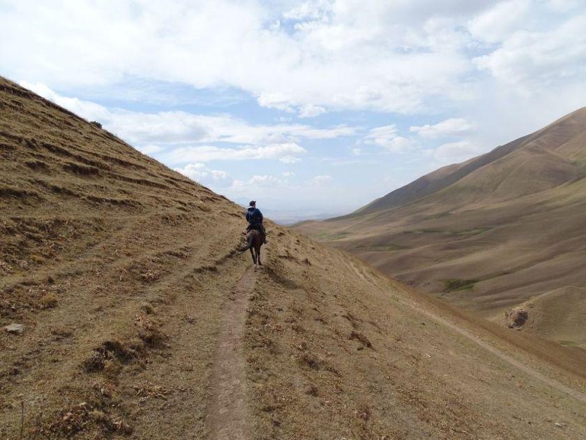 Unglaubliche Weite, Nahe Son Kul See, Kirgistan