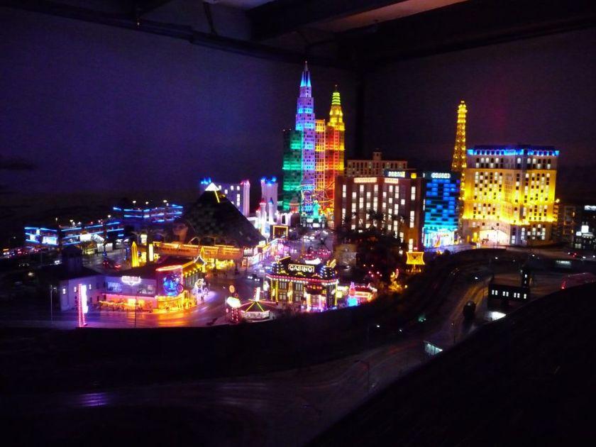 Miniatur Wunderland Hamburg Nacht