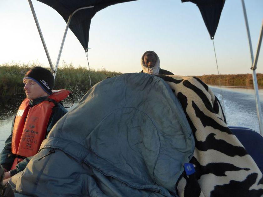 Okavango Delta kalt