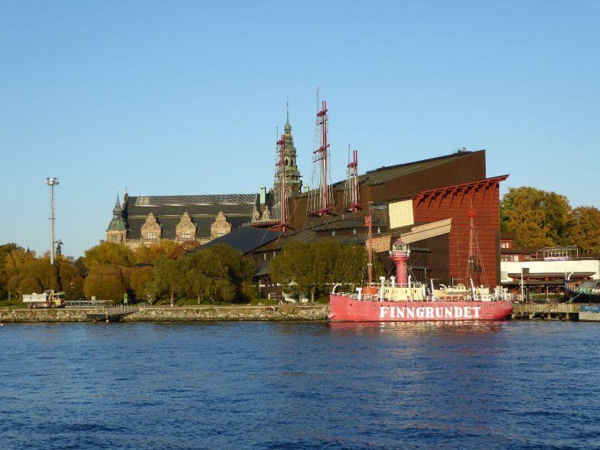 Vasa Museum von Skeppsholmen aus