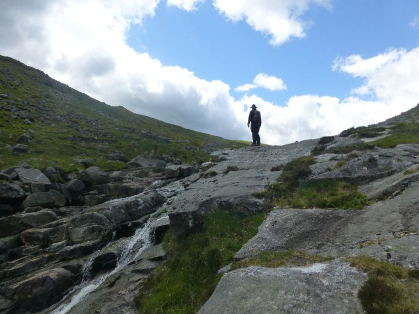 Wanderweg Glendalough Glenealo River