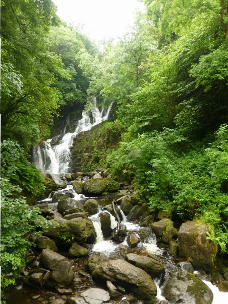 Torc Wasserfall Killarney Irland