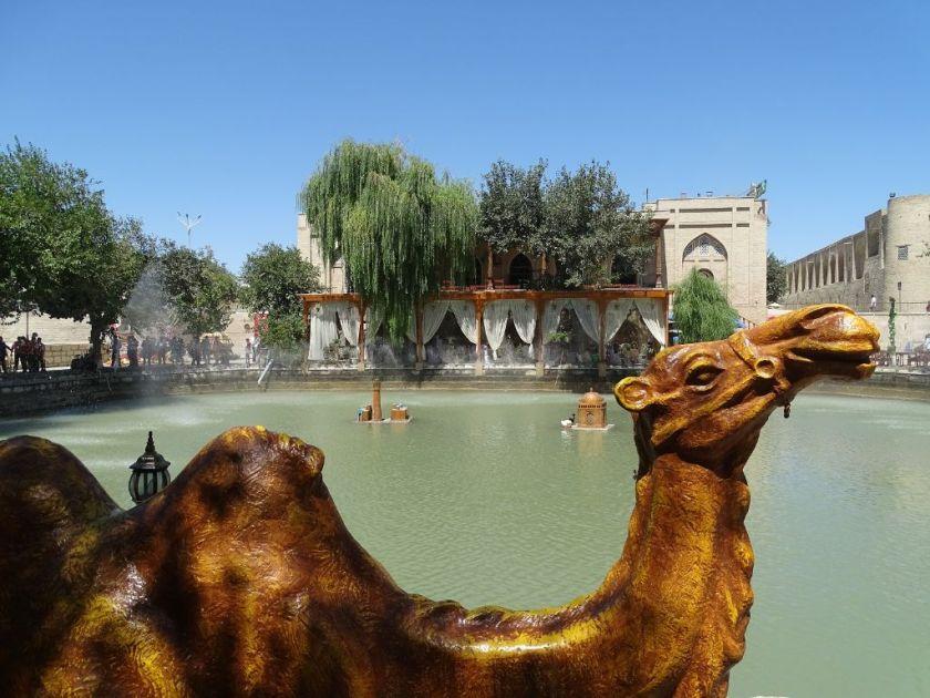 Usbekistan Buchara Lyab-i-Hauz
