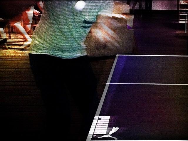 Puma Social Club table tennis