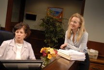 """The Receptionist"" with the brilliant Sharonlee McLean"