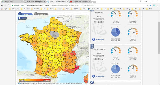 average house prices in France