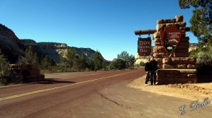 The scenery around the sign, while interesting, isn't nearly as cool as the rest of it!