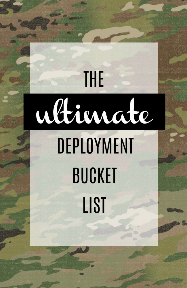The Ultimate Bucket List