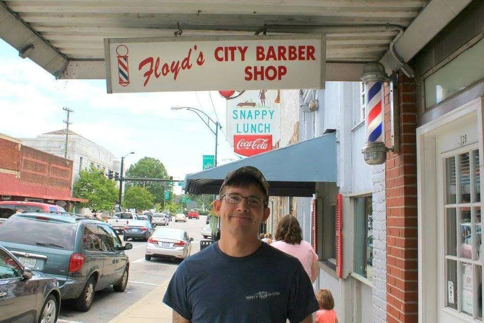 Floyd's Barber Shop Mount Airy North Carolina