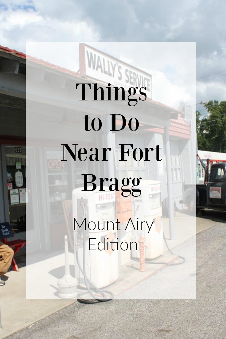 Things to Do Near Fort Bragg Mt. Airy Edition