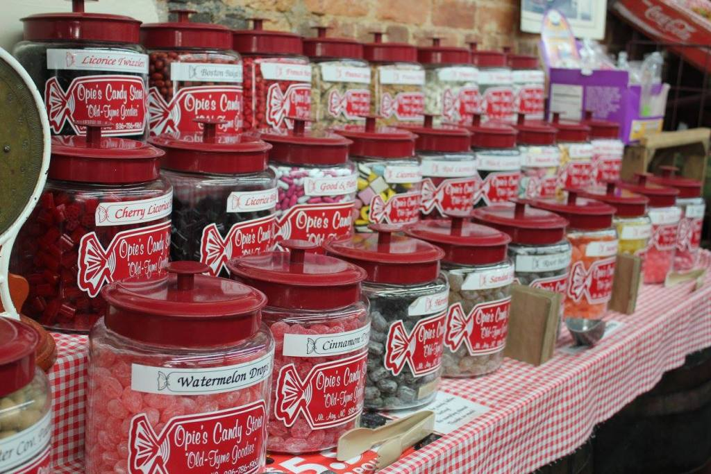 Opie's Candy Store in Mount Airy, North Carolina
