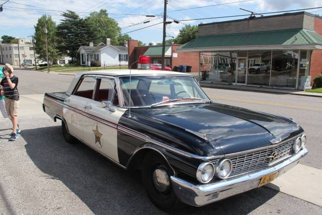 Squad Car used for tours in Mayberry