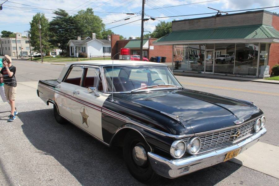 Squad Car used for tours in Mayberry.