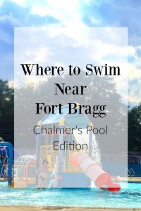 Where to Swim Near Fort Bragg, NC: Chalmer's Pool Edition | Finding Mandee
