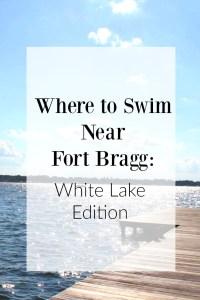 Where to Swim Near Fort Bragg NC