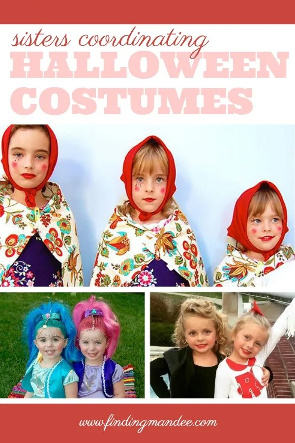 Coordinating Halloween Costumes for Sisters