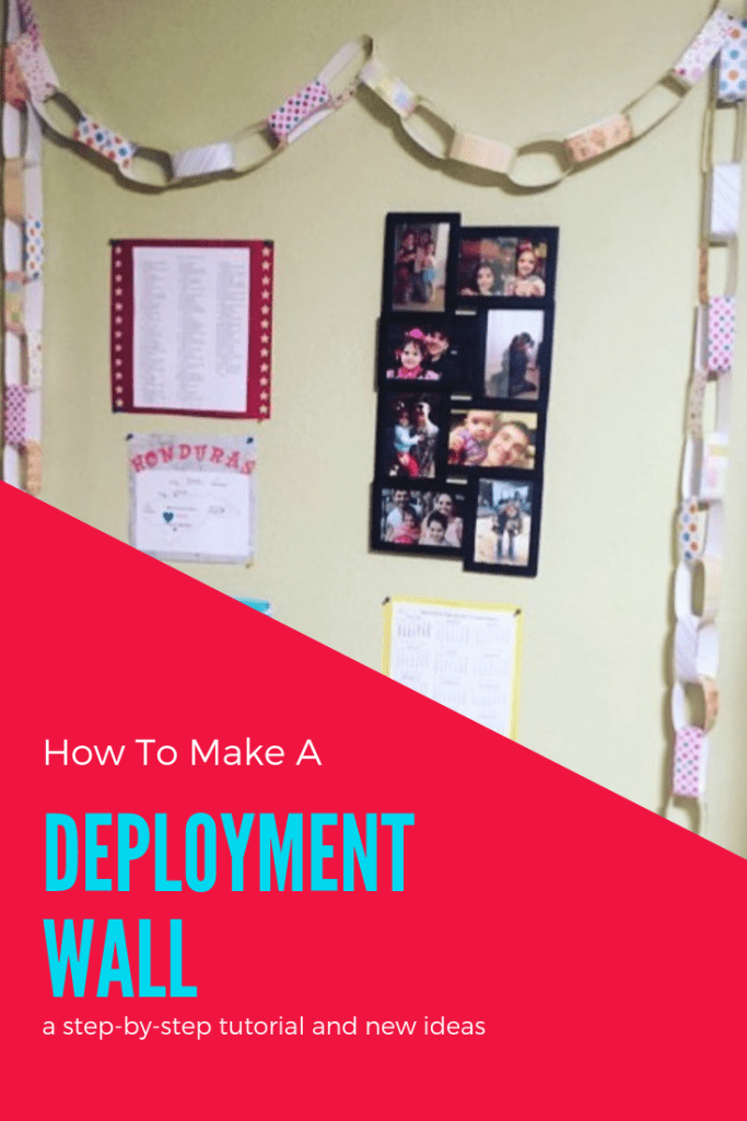 How to Make a Deployment Wall | Finding Mandee