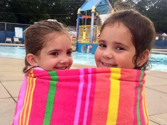 kids enjoying chalmer's pool