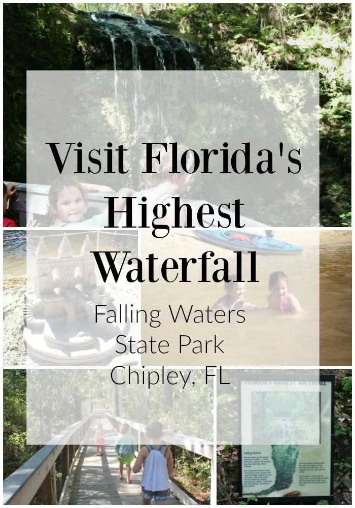 Florida's biggest waterfall