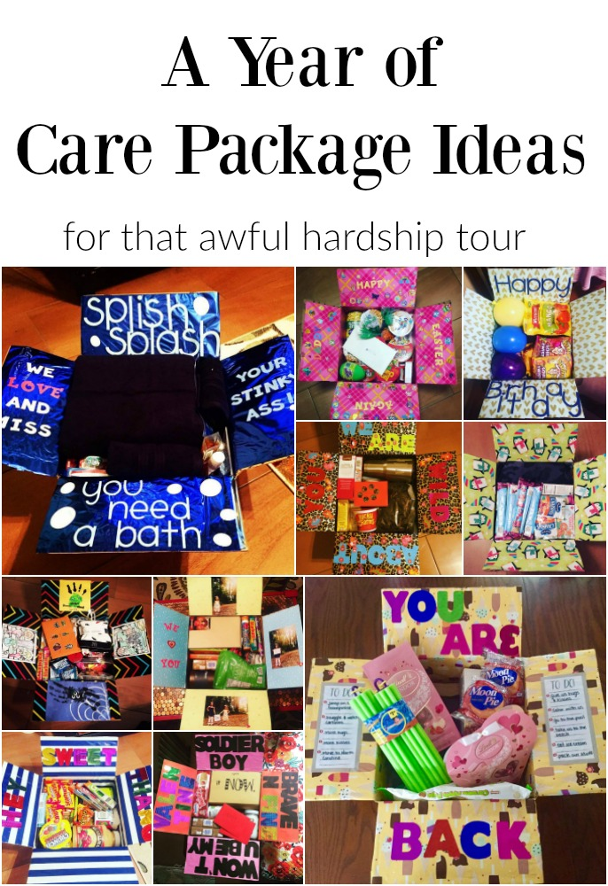 a year of care package ideas