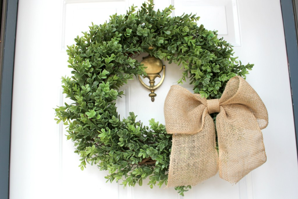 farmhouse wreath tutorial