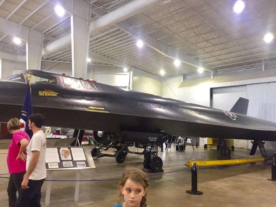 CIA spy plane at Memorial Battleship Park