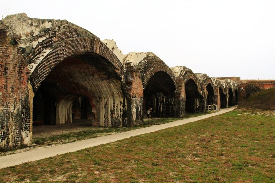 things to do in Pensacola Fort Pickens