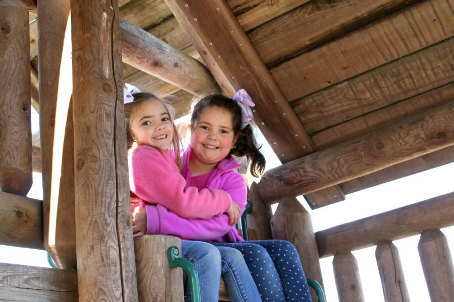 kids on playground at Shenandoah Crossing