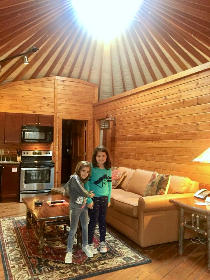 yurt camping at Shenandoah Crossing in Gordonsville, VA