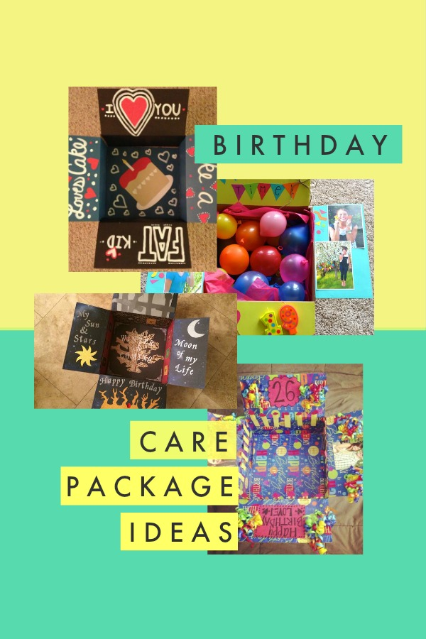 Birthday Care Package Ideas