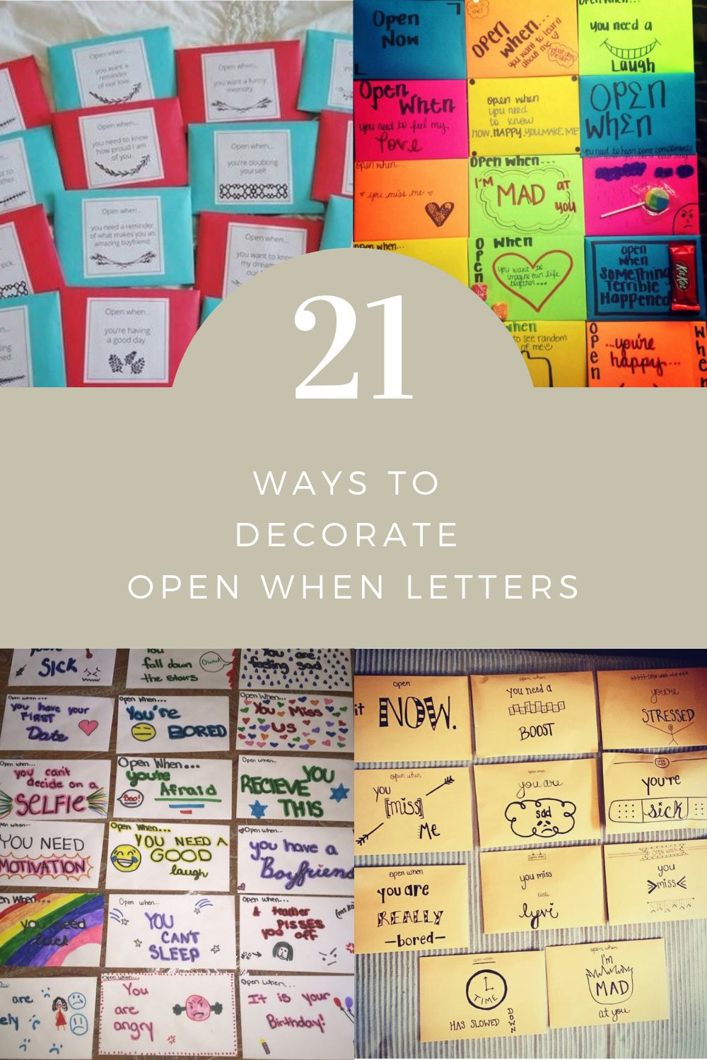 21 Ways to Decorate Open When Letters