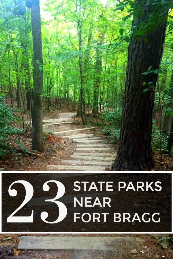 23 State Parks Near Fort Bragg, NC