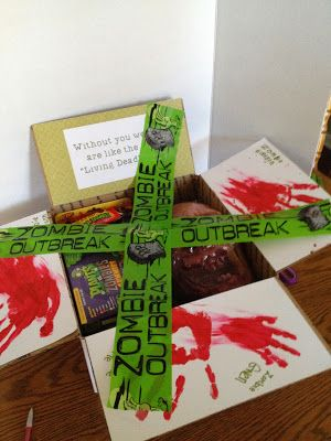 Halloween Care Package: Zombie Outbreak Box