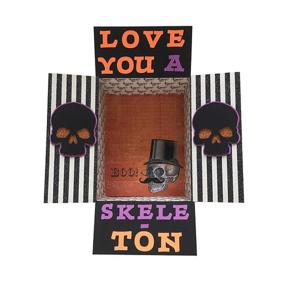 Halloween Care Package Idea: I Love You a Skele-Ton!