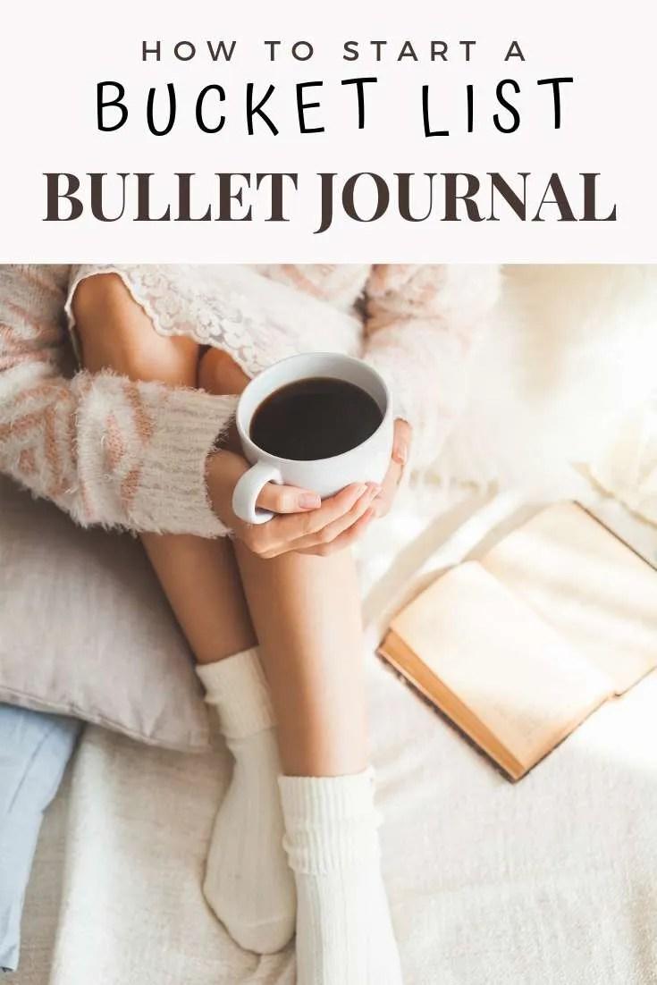 How to Start a Bucket List Bullet Journal