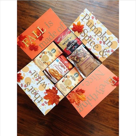 Fall Care Package: Pumpkin Spice and Everything Nice