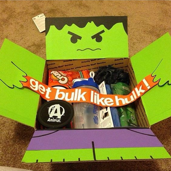 Monthly Care Package Ideas: January