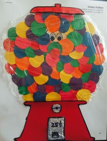 Turkey Disguise: Gum Ball Machine