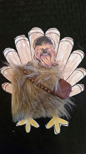Turkey Disguise: Chewbaca