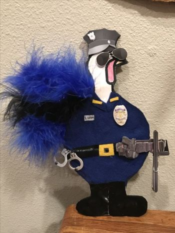 Turkey Disguise: Police Officer