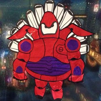 Turkey Disguise: Big Hero 6