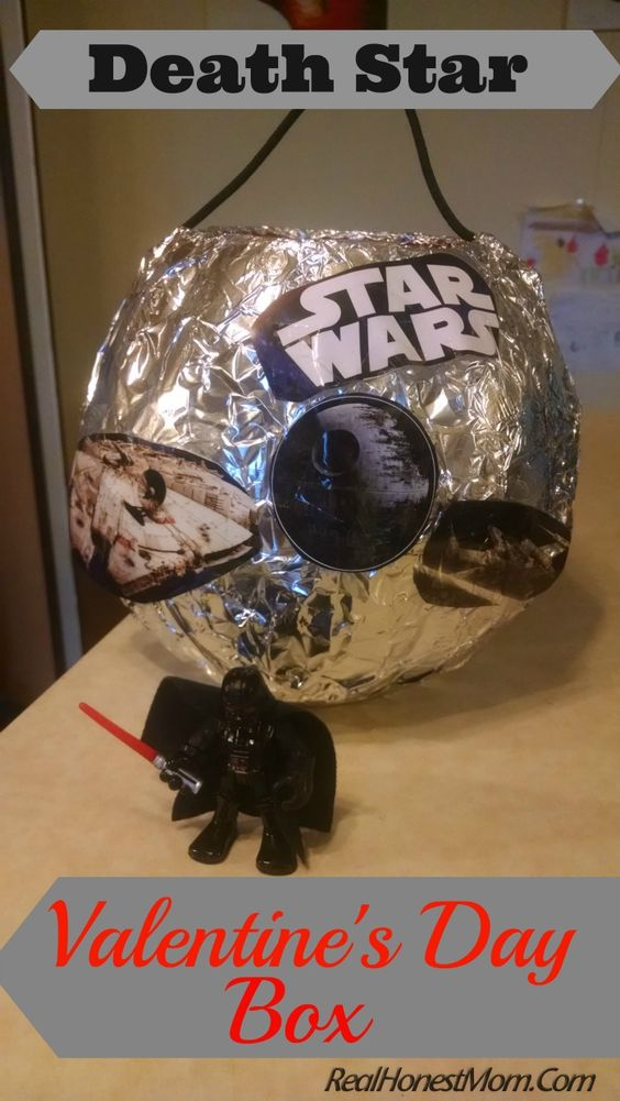 Death Star Valentine Box
