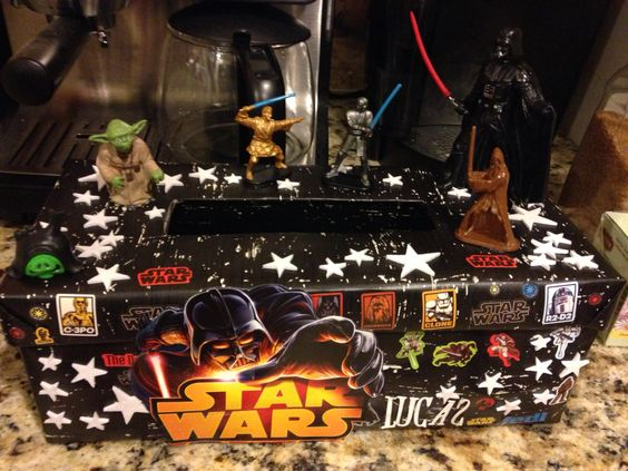 Star Wars Valentine Box