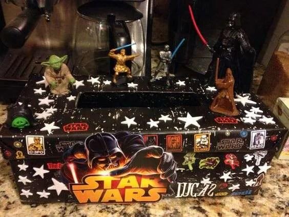 Star Wars Valentine Box