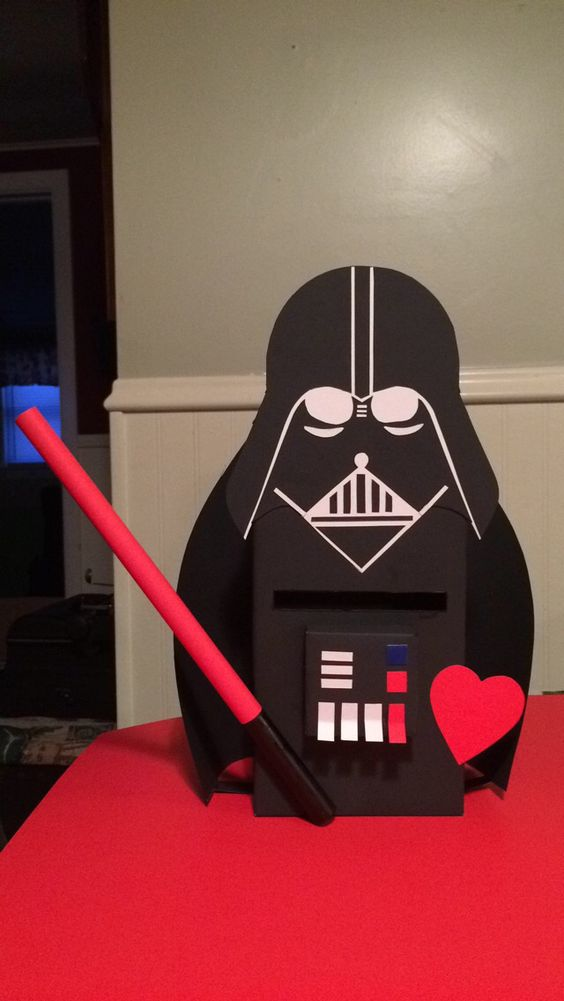 Darth Vader Valentine Box