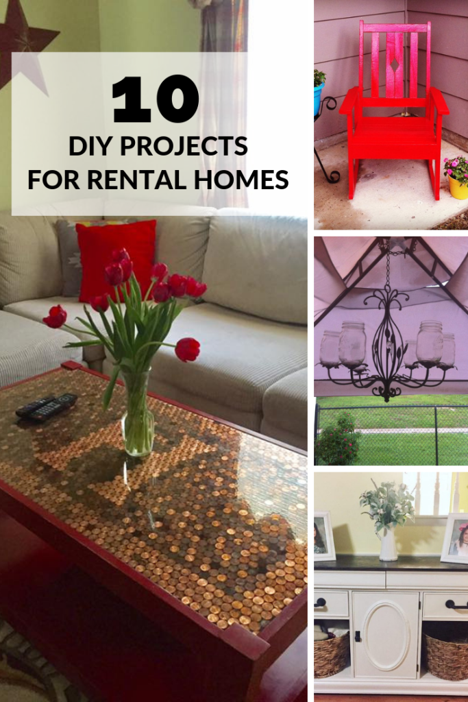 10 DIY Projects for Rental Homes | Finding Mandee