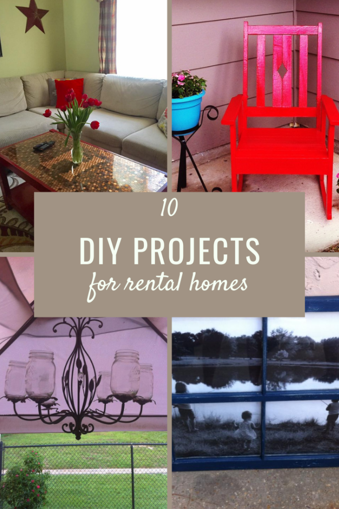 10 DIY Projects for Rental Houses | Finding Mandee