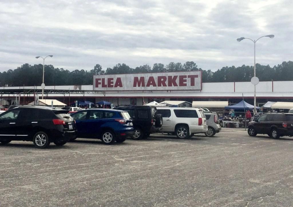 The Bragg Boulevard Flea Market in Fayetteville, NC.