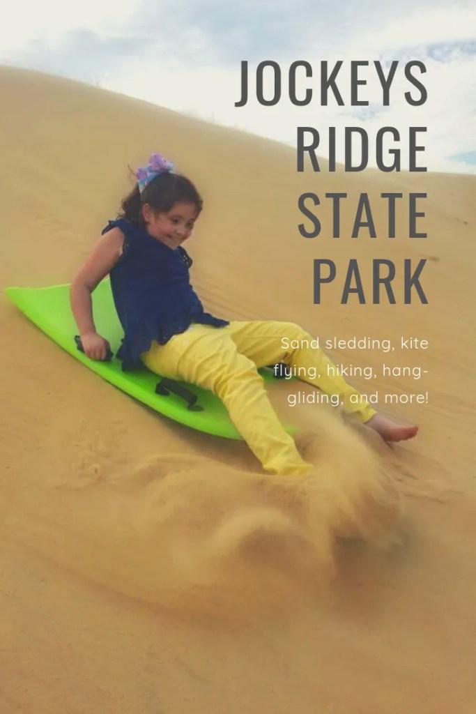 Jockey's Ridge State Park: Sand sledding, kite flying, hiking, hang-gliding, and more! | Finding Mandee